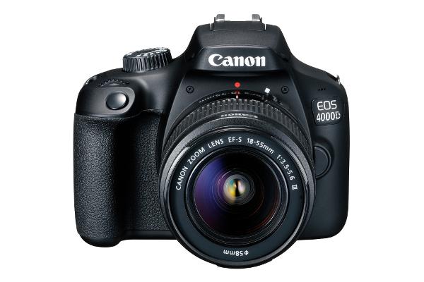 Canon EOS 4000D + 18-55mm, kit 16GB + torbica