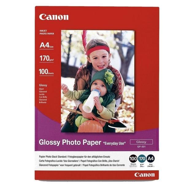Canon Glossy Photo GP-501 - A4 -100l