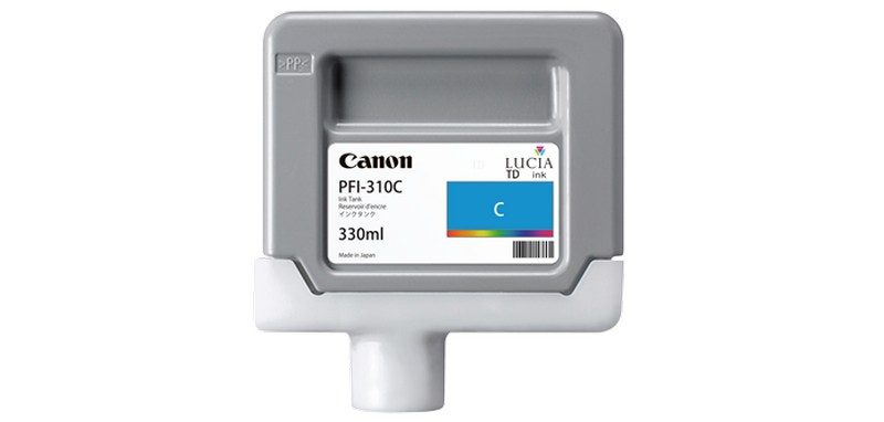 Canon tinta PFI-310, Cyan