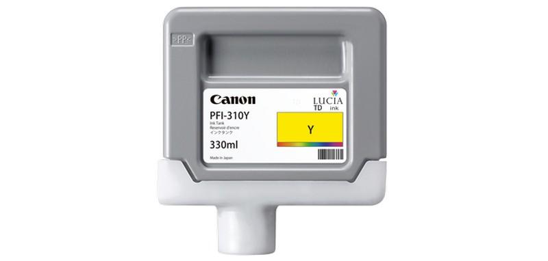 Canon tinta PFI-310, Yellow