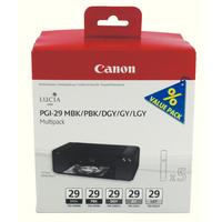 Canon tinta PGI-29 MBK/PBK/DGY/GY/LGY/C