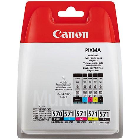 Canon tinta PGI-570 + CL-571 BCMY multipack