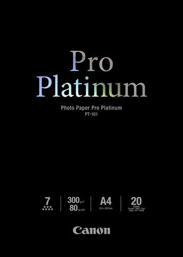 Canon Pro Platinum Pho PT101 - A4 - 20L