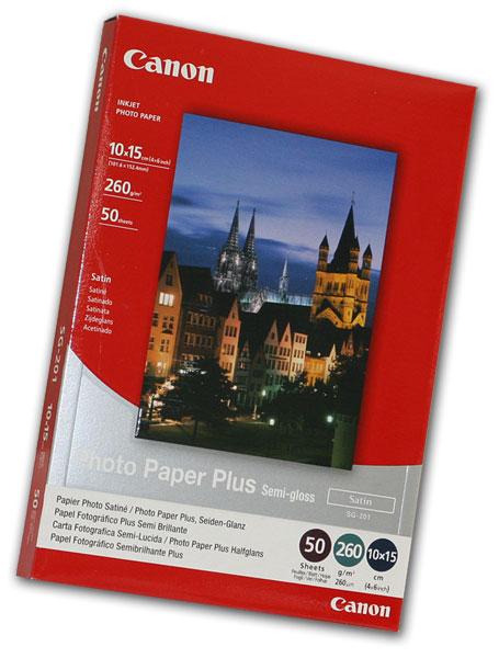 Canon Photo Paper Plus SG201 - 10x15 50L