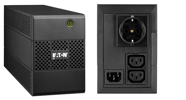 Eaton UPS 1/1-fazni, 5E650iDIN, 650 VA/360 W