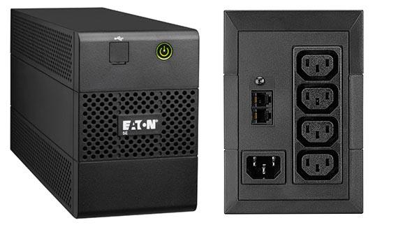 Eaton UPS 1/1-fazni, 5E850iUSB, 850 VA/480 W