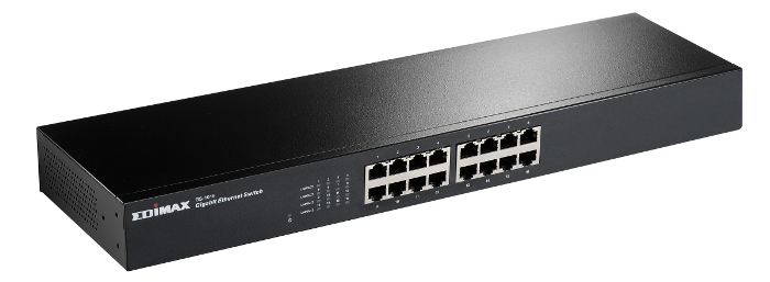 Edimax Gig. Rackmount switch GS-1016,16-port