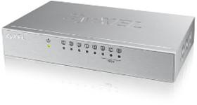ZyXEL ES-108AV3, 8-port Switch, metalno