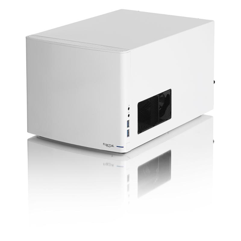 Fractal Node 304, bijelo, bez napajanja, ITX