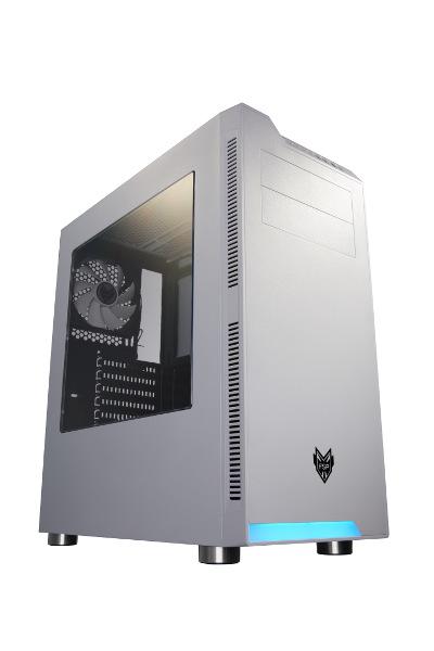 Fortron CMT240,bijelo s prozorom,bez napajanja,ATX