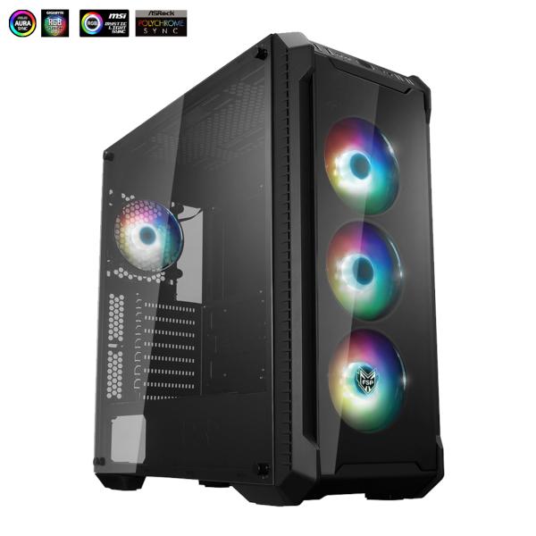 Fortron CMT 520 Plus, RGB, TG, 4x usb, bez napaj.