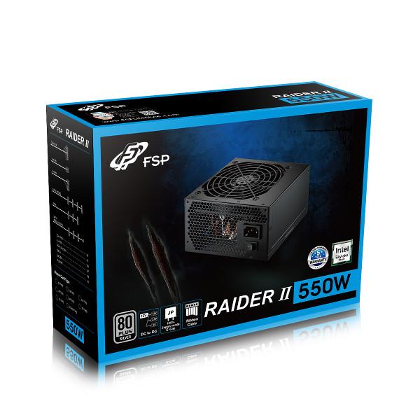Fortron napajanje Raider II PSU 550W,80+ SILVER