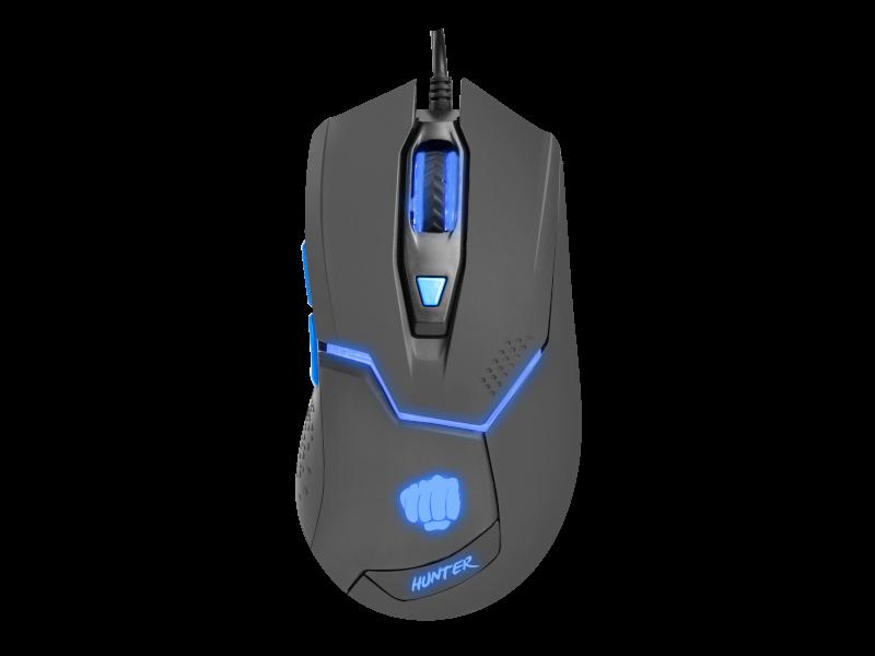 Fury Hunter, 6400dpi, RGB, gaming miš, USB