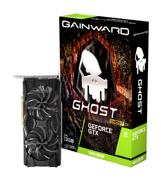 Gainward GF GTX1660Super GHOST OC, 6GB