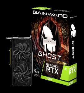 Gainward GF RTX2060 Ghost OC, 6GB