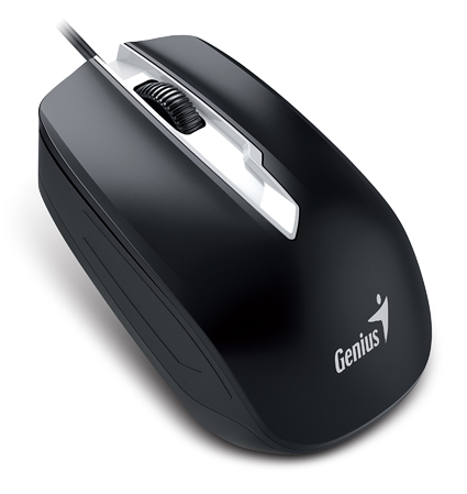 Genius DX-180, ergonomski, USB, 1600dpi, crni