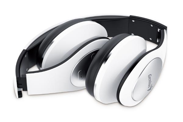 Genius HS-935W, bluetooth headset, NFC, bijele