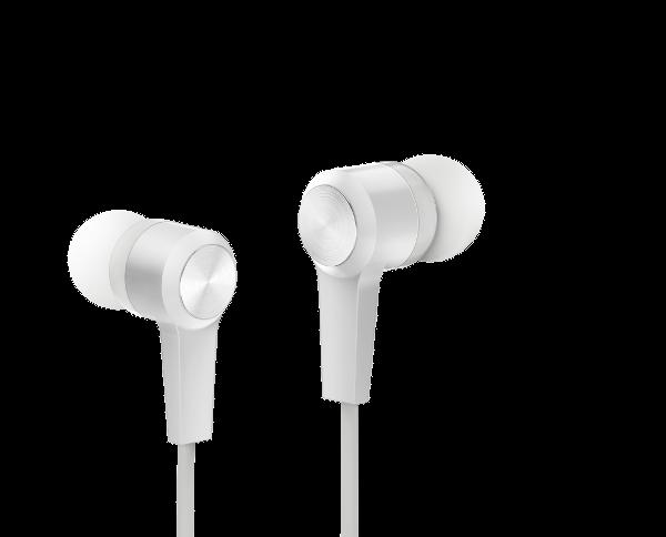 Genius HS-M228, in-ear slušalice s mikr., bijele