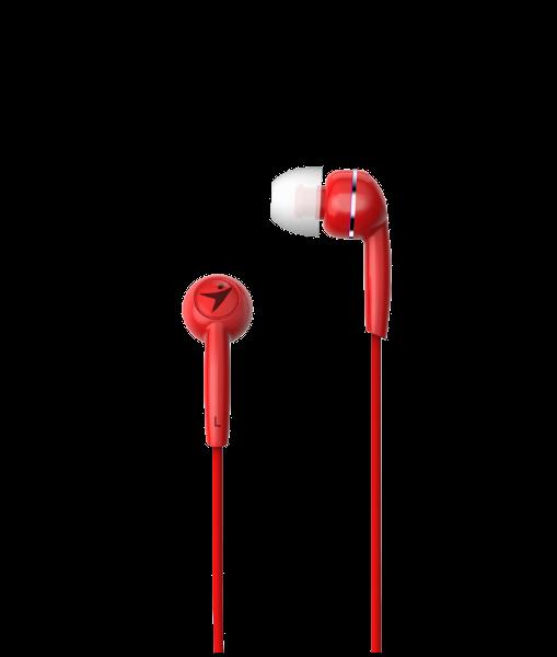 Genius HS-M320, in-ear slušalice, crvene