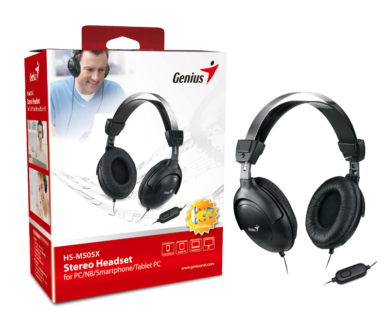 Genius HS-M505X, slušalice s mikrofonom