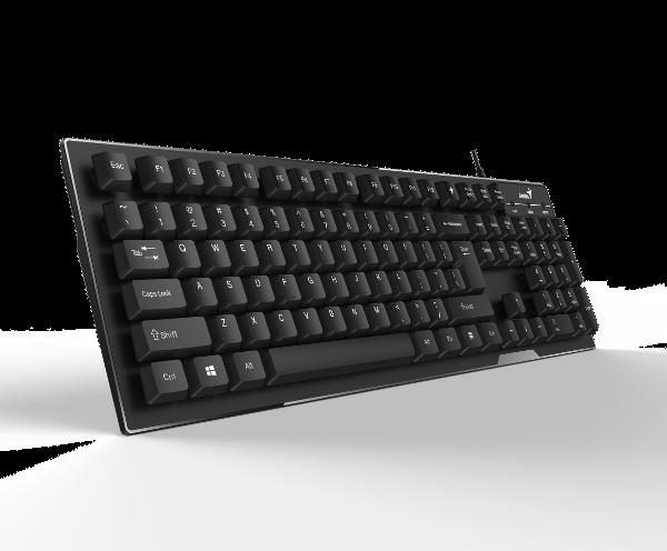 Genius Smart KB-102, tipkovnica, crna, USB