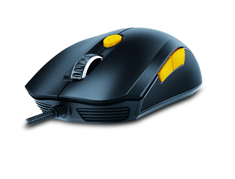 Genius Scorpion M6-600, igraći miš, 5000dpi, crni