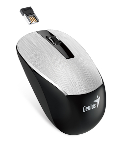 Genius NX 7015, bežični miš, srebrna