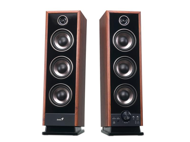 Genius zvučnici SP-HF2020 V2, drveni, 60W, daljins