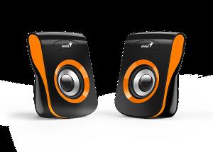 Genius zvučnici SP-Q180, 6W, USB, narančasti