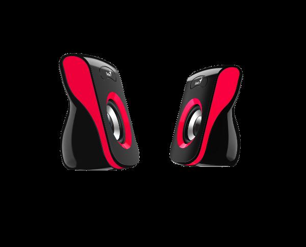 Genius zvučnici SP-Q180, 6W, USB, crveni