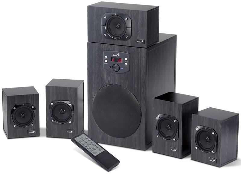 Genius zvučnici SW-HF5.1 4500, 125W, 230V wood