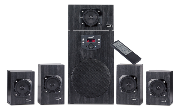 Genius zvučnici SW-HF5.1 4500, 125W, drveni