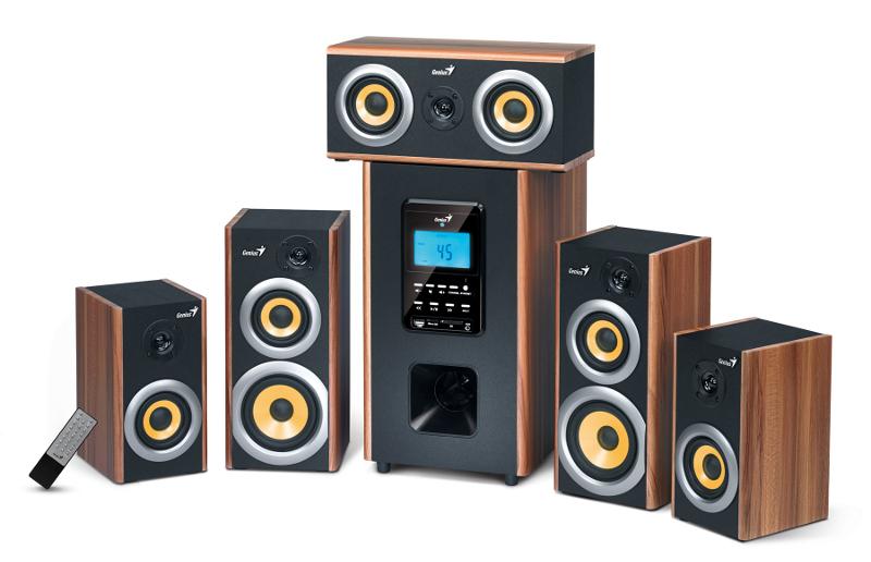Genius zvučnici SW-HF5.1 5200, 150W, 230V wood
