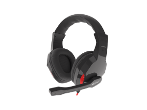 Genesis Argon 120, slušalice s mikrofonom, crna