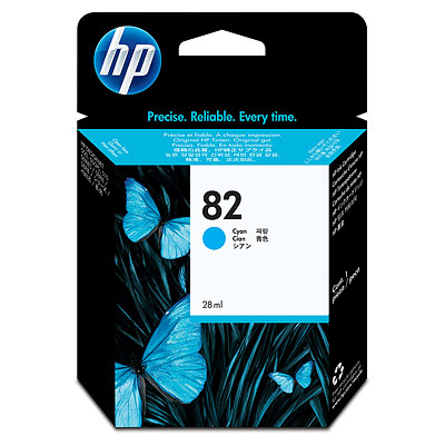 C4911HP tinta plava, No.82, 69ml