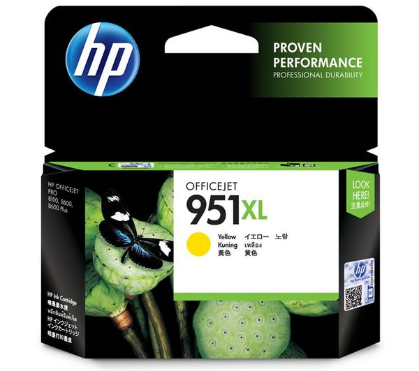 CN048AE HP tinta žuta, No.951XL, 17ml