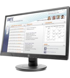 """HP 20.7"""" V214a Monitor, 1FR84AA"""