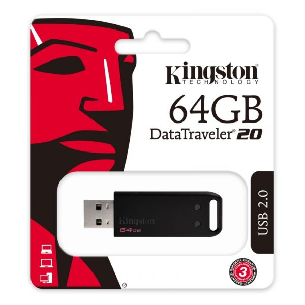 Kingston DT20, 64GB, USB2.0