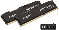 Kingston DDR3 HyperX Fury,1866MHz, 8GB(2x4GB)Black