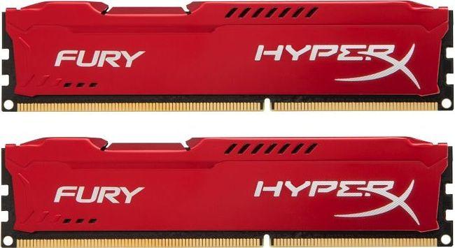 Kingston DDR3 HyperX Fury,1866MHz, 8GB(2x4GB) Red