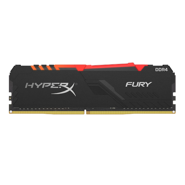 Kingston HyperX Fury RGB DDR4 16GB, 2400MHz, CL15