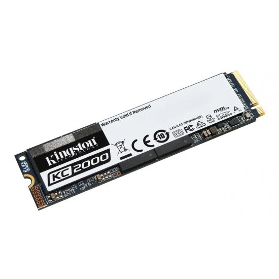 Kingston KC2000 NVMe 500GB,R3000/W2000, M.2 2280