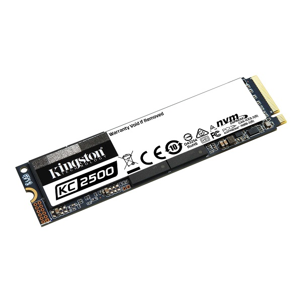 Kingston KC2500 NVMe 500GB,R3500/W2500, M.2 2280