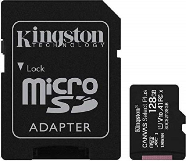 Kingston microSDXC, Select plus, Class10, 128GB