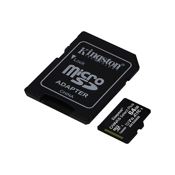 Kingston microSDXC, Select plus, Class10, 64GB