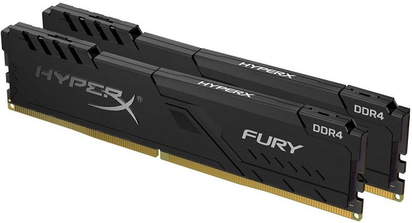 Kingston DDR4 HX Fury, 16GB(2x 8GB), 3200MHz, CL16