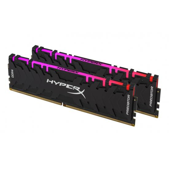 Kingston DDR4 HX Pred. RGB, 16GB(2x 8GB), 3600MHz