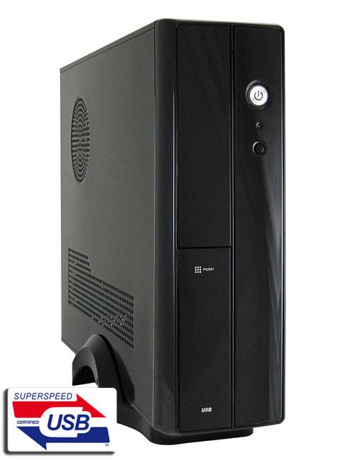 LC-Power LC-1400mi, crno, U2, U3, mATX, 200W, SFF