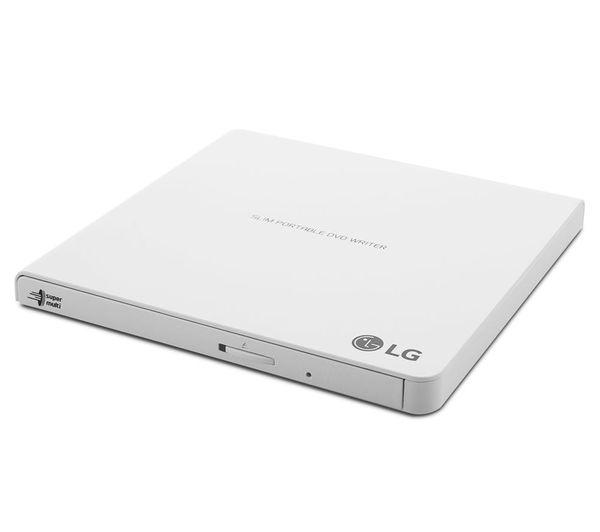 LG DVD±RW DL 8x Slim USB 2.0 bijela