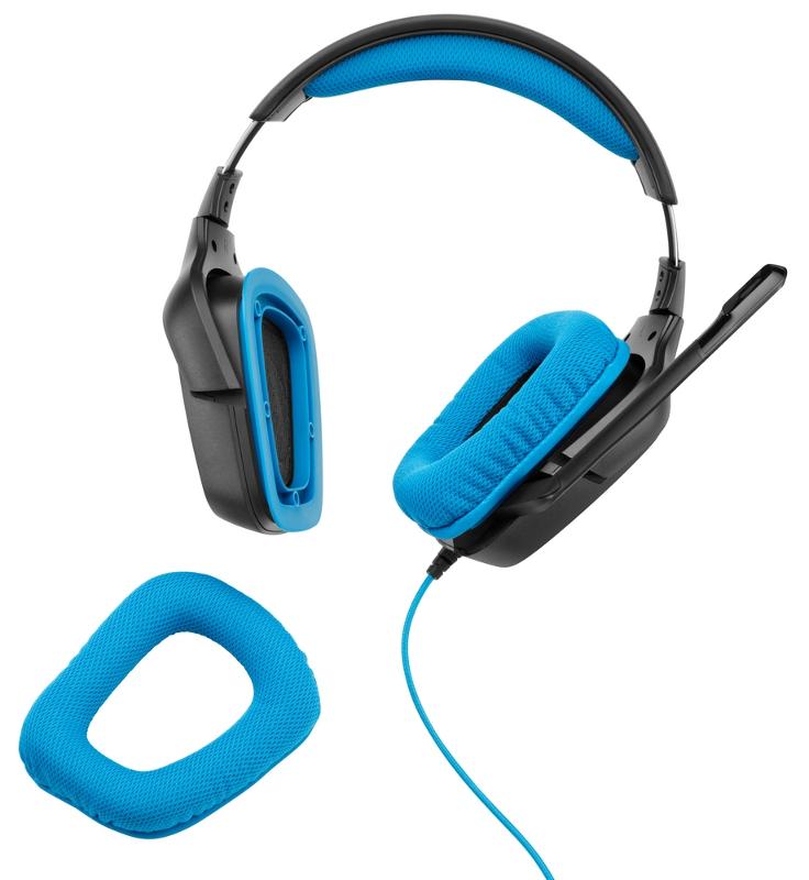 Logitech G430 slušalice s mikrofonom, 7.1 surround